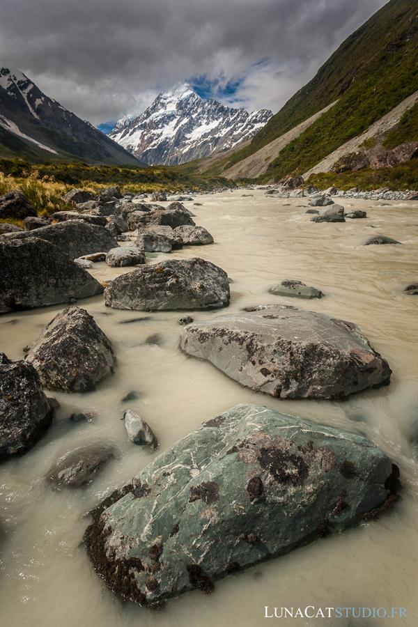 Mont Cook, Nouvelle-Zélande : photographie de paysage