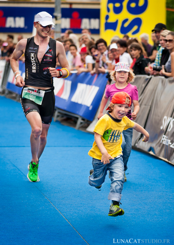 Reportage photo de sport : triathlon et Iron Man