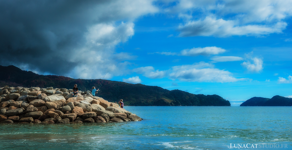 Abel Tasman, Nouvelle Zélande : photographie de voyage