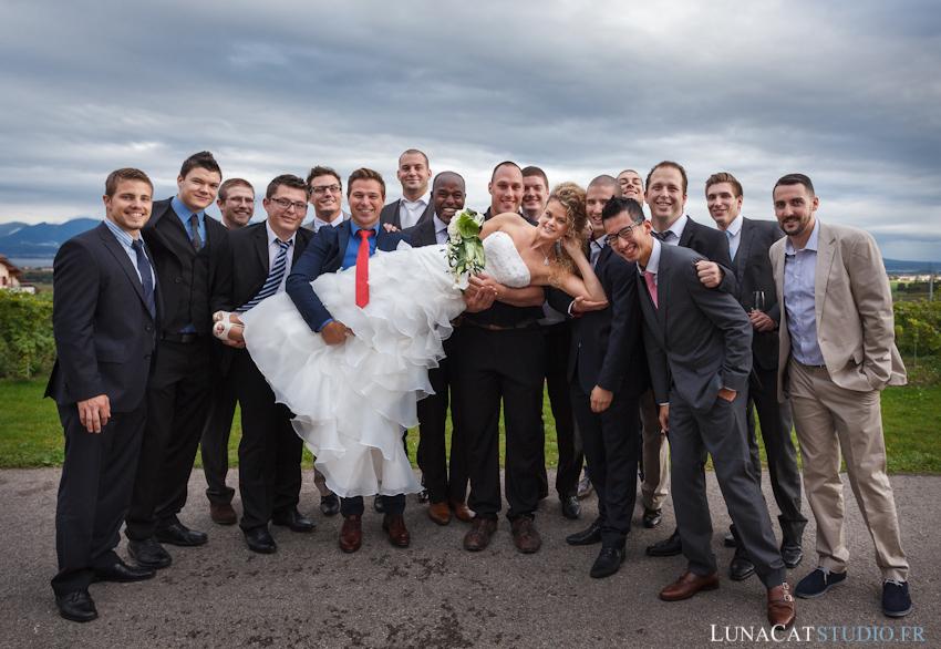 photos de groupe photographe mariage suisse