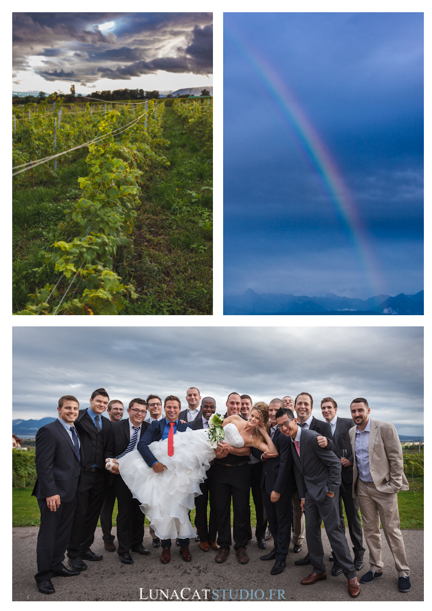 Photographe mariage Vaud : Cindy & Andrea, Portes des Iris photographe mariage