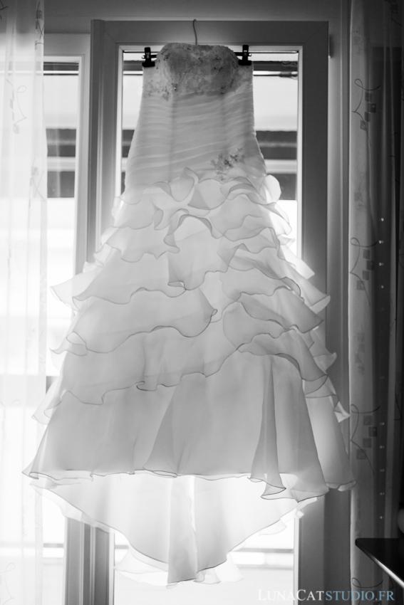 photographe mariage robe de mariée