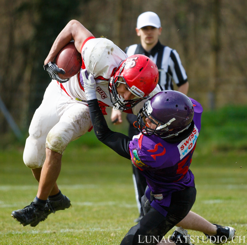 photographe lausanne football américain