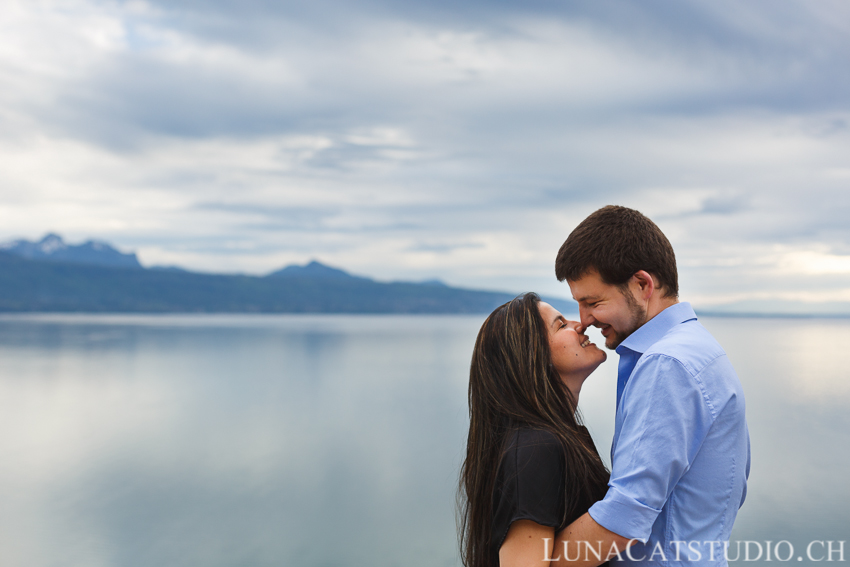 Séance photo engagement Lavaux