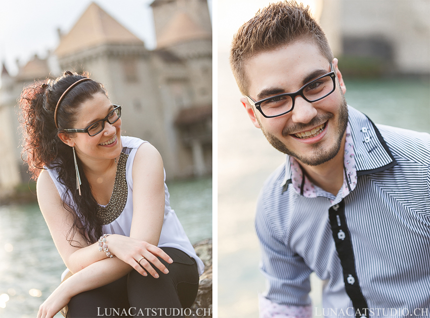 seance photo engagement chateau chillon