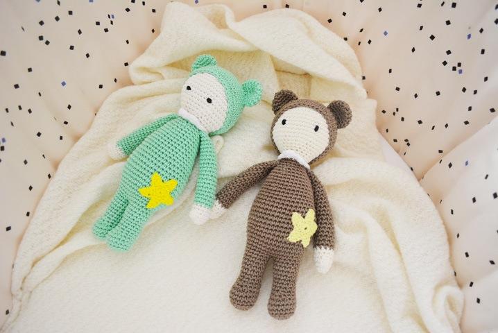 doudou crochet titi cadeau bebe