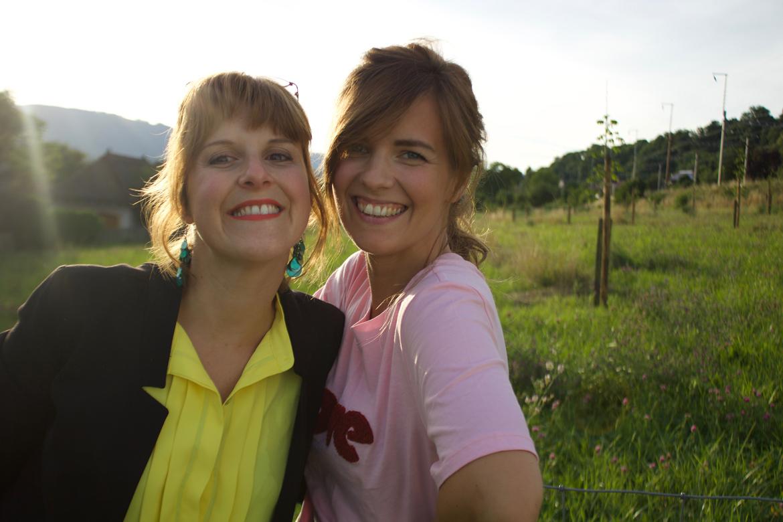 mamans comme on peut Isabelle et Isaline