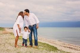 photo famille lac léman