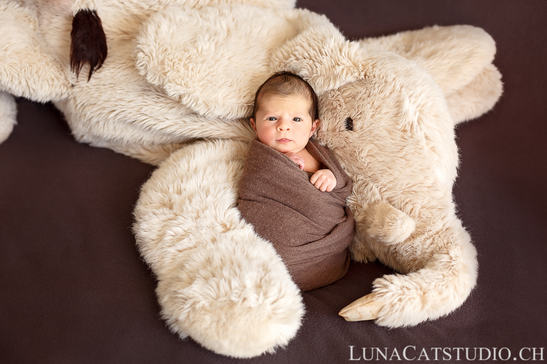 photographe naissance pontarlier bebe peluche