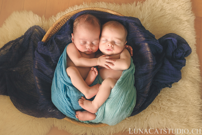 séance photo jumeaux