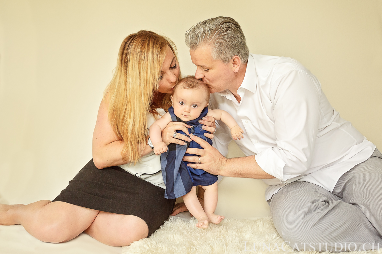 photo famille bebe 6 mois