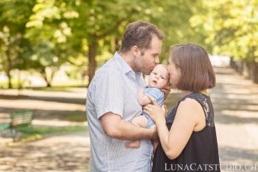 séance photo famille parc des bastions à genève