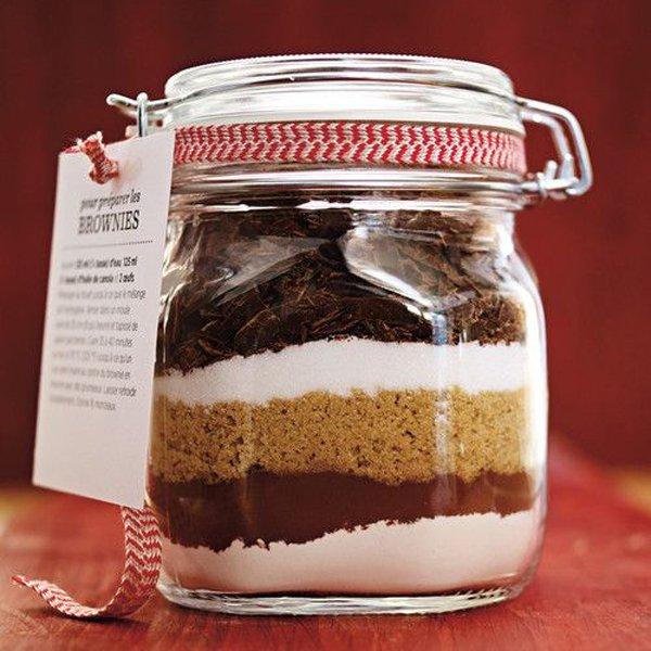 brownie cadeau Noel