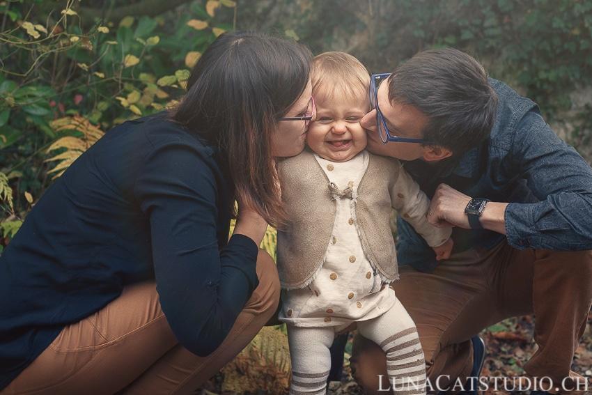 photo bébé parents